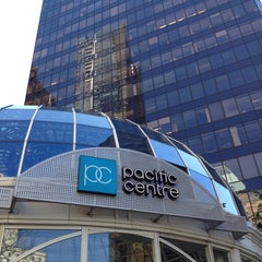 Photo taken at Pacific Centre by Bob D. on 5/5/2013