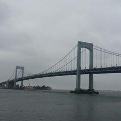 Photo taken at Throgs Neck Bridge by Santino on 10/9/2012