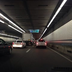 Photo taken at Thomas P. O'Neill Jr. Tunnel by Jason T. on 5/2/2014