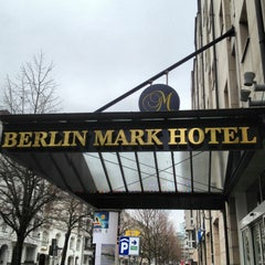 Photo taken at Berlin Mark Hotel by Nick B. on 3/8/2013