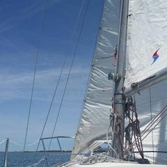 Photo taken at Lake Erie by Nancy S. on 6/21/2014