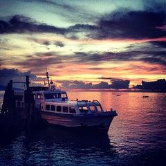 Photo taken at Sibulan Pier (Ferry Terminal) by Kenny 1. on 5/31/2013