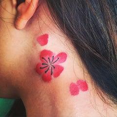 Photo taken at Buju Tattoo by Yinghong X. on 5/8/2015