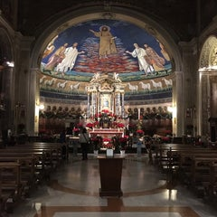 Photo taken at Basilica S.Cosma e Damiano by Stefano S. on 1/30/2016