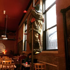 Photo taken at Firehouse Coffee Co by Christopher D. on 3/21/2015