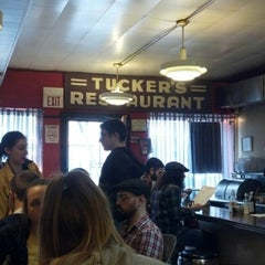 Photo taken at Tucker's Restaurant by Ron A. on 1/13/2013