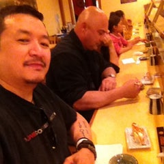 Photo taken at Umi Sushi Boat by Bobby R. on 11/24/2012