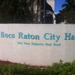 Photo taken at Boca Raton City Hall by James U. on 11/15/2012