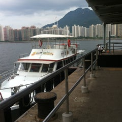 Photo taken at Ma Liu Shui Ferry Pier 馬料水渡輪碼頭 by Armein H. on 8/11/2015
