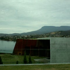 Photo taken at MONA: Museum of Old and New Art by JM John A. on 1/16/2013