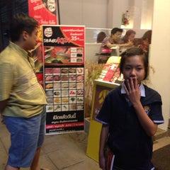Photo taken at Shabu Ken (ชาบูเคน) by Muay K. on 7/27/2013