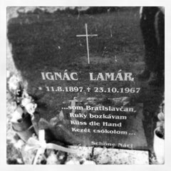 Photo taken at Ondrejský cintorín by Ron D. on 6/4/2014