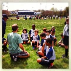 Photo taken at Stoddert Soccer @ Carter Baron Fields by Rachel C. on 4/13/2013