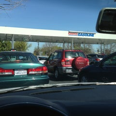 Photo taken at Costco Gasoline by Chris P. on 3/11/2013