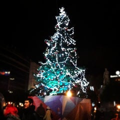 Photo taken at Piazza Ruggero Settimo by Aura N. on 12/22/2012