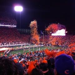 Photo taken at Memorial Stadium by Kathlene H. on 11/25/2012
