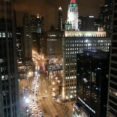 Photo taken at InterContinental Chicago Magnificent Mile by Kerr S. on 1/1/2013