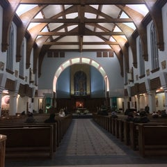 Photo taken at St Mary's Cathedral by Marjorie Krystle S. on 3/3/2014