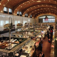 Photo taken at West Side Market by Patrick S. on 2/18/2013