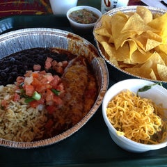 Photo taken at Cafe Rio Mexican Grill by Patty P. on 2/15/2014
