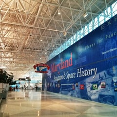 Photo taken at Baltimore / Washington International Thurgood Marshall Airport (BWI) by Jennifer P. on 1/21/2013
