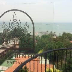 Photo taken at The Montien Hotel Pattaya by Joji I. on 3/27/2015