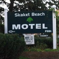 Photo taken at Skaket Beach Motel by Paul N. on 9/20/2012