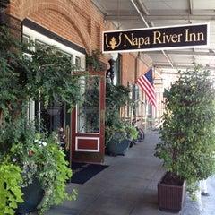 Photo taken at Napa River Inn by Tiara D. on 9/29/2012