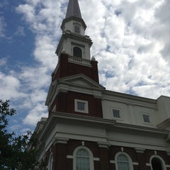 Photo taken at First Baptist Church by Alan l. on 5/17/2014