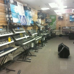 Photo taken at Sam Ash Music Stores by Robert P. on 11/28/2012