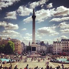 Photo taken at Trafalgar Square by Mehrdad A. on 6/3/2013