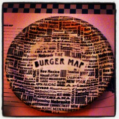 Photo taken at The Burger Map by Erick M. on 4/30/2013