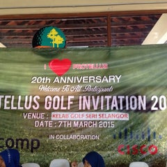 Photo taken at Seri Selangor Golf Club by Sabreena S. on 3/6/2015