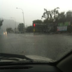 Photo taken at Intersection Jalan Teratai by amril n. on 9/17/2011