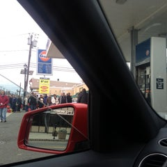 Photo taken at Gulf Gas Station by Michael P. on 10/31/2012