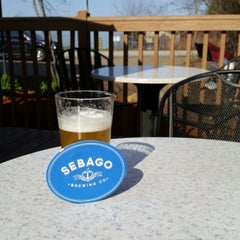 Photo taken at Sebago Brewing Company by Jay M. on 5/4/2015