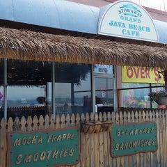 Photo taken at Java Beach Cafe by Robert B. on 6/30/2015