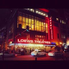 Photo taken at AMC Loews Boston Common 19 by Nikul R. on 11/21/2012
