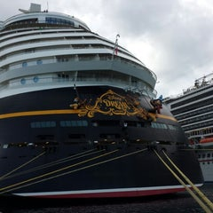 Photo taken at Port Canaveral by Doug M. on 8/4/2013