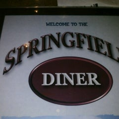 Photo taken at Springfield Diner by Dancy on 10/14/2012