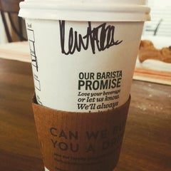 Photo taken at Starbucks by Catrina S. on 3/28/2015