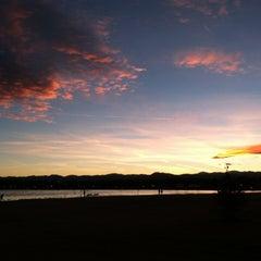 Photo taken at Sloan's Lake Park by Diena R. on 2/6/2013