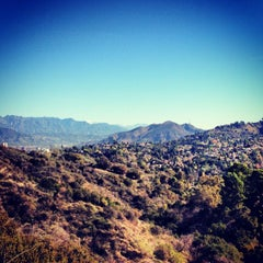 Photo taken at Fryman Canyon by Christine K. on 1/19/2013