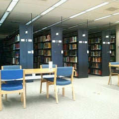 Photo taken at Library @ UW-Parkside by Tony A. on 4/19/2013