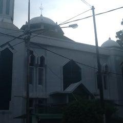 Photo taken at Masjid Asra Albakrie by Riska s. on 2/16/2013