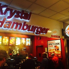 Photo taken at Krystal by Kevin S. on 6/2/2014
