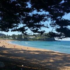 Photo taken at Avalon Beach by Dilara D. on 5/14/2016