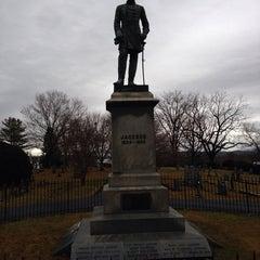 """Photo taken at Thomas """"Stonewall"""" Jackson's Grave by Sean M. on 12/23/2013"""
