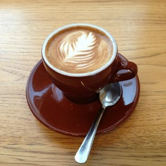 Photo taken at Blue Bottle Coffee by Bill F. on 1/31/2013