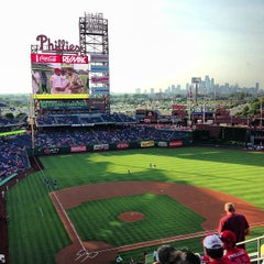 Photo taken at Citizens Bank Park by Alex K. on 6/21/2013